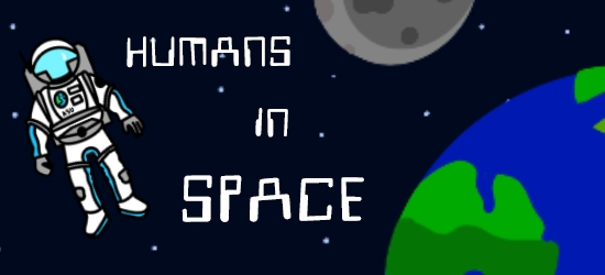 Humans exploring space
