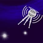 Radio satellite cartoon
